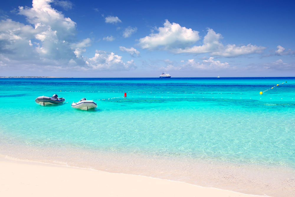 Playa de Illetas - Formentera
